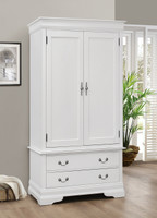 Maricel Armoire In White