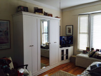 CUSTOM - White Extended Armoire