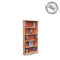 "DVD / BLU-RAY / VHS Media Storage 48"" High"