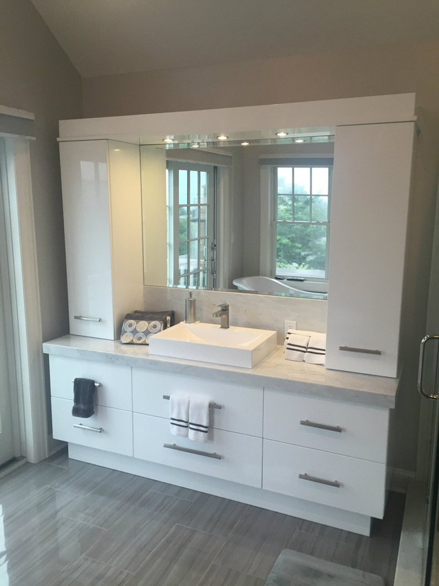 Custom Bathroom Vanity With Cabinets
