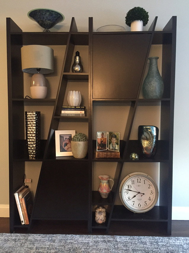 Custom Modern Bookcase Gothic Cabinet Craft