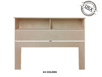 Full / Queen Bookcase 9 x 62 x 46 | Birch Wood