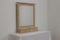 CLEARANCE - Mirror w/ 2 Drawers