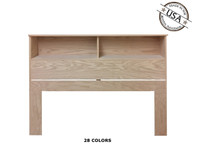 Full / Queen Bookcase 9 x 62 x 46 | Oak Wood