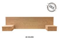 Full Floating Nightstands 16 x 88 x 24   Oak Wood