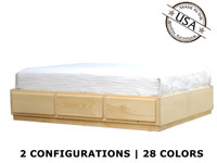 Full Captains Bed | Pine Wood