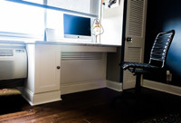 CUSTOM - Built In Desk / Radiator Cover