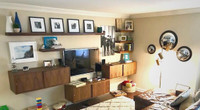CUSTOM - Built-in Floating Storage Units and Shelves