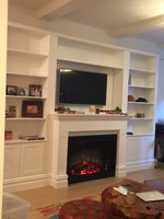 Custom Entertainment Wall Unit