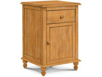 Cottage Nightstand With 1 Drawer/1 Door