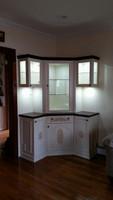 CUSTOM - Corner Curio Cabinet