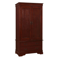Charles Armoire in Cherry