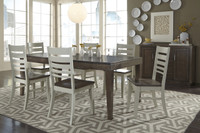 Luxe Extension Table with 6 Chairs