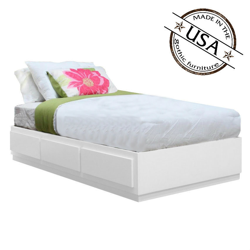 Xl twin storage bed full size of brimnes bed frame with storage headboard queen luray twin - Extra long twin bed frame with storage ...