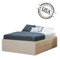 King Storage Bed 10 Drawers & 2 Doors
