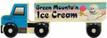 Wooden Semi Truck - Green Mountain Ice Cream