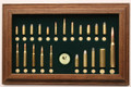 Tatonka Bullet Board - Military w/ 50 BMG Cartridge Collection