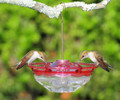 Aspects Hummingbird Feeder Mini HummBlossom Humm Blossom 4 oz Rose Color USA