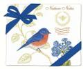 Alice's Cottage Set of 2 Cotton Flour Sack Towels BLUEBIRD