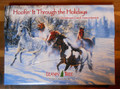 Leanin Tree CHRISTMAS 20 Box Set - Hoofin it Through the Holidays - HORSES