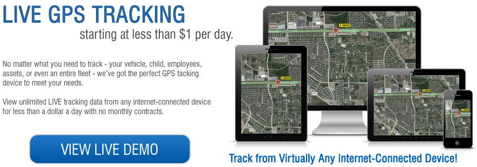 Live GPS Tracking Devices - Fleet Tracking