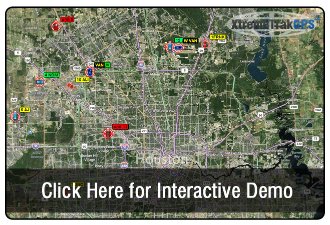 Live GPS Tracking Demo