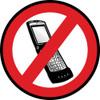 No Cell Phone Custom Floor Sign