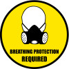 Breathing Protection Required Sign