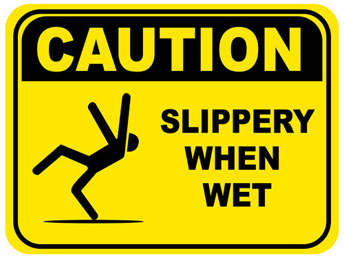 Caution slippery when wet floor signs are great because for Work floor meaning