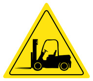 Caution Forklift Sign