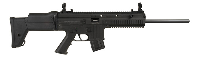 The 'Blackhawk' version of the Anschutz MSR RX22