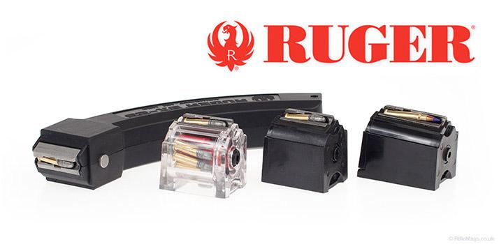 We stock the full range of Ruger rifle magazines