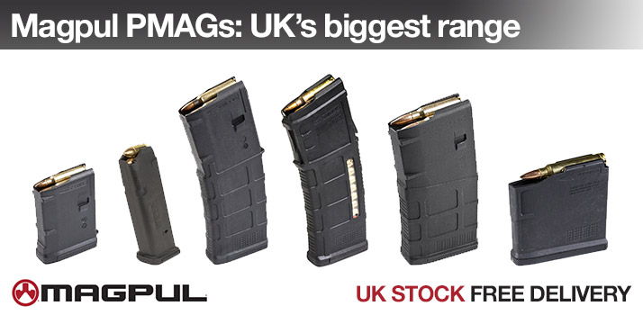 Now stocking the UK's biggest range of Magpul PMAGs