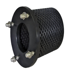 "10"" Flanged Hdpe Strainer Screen"