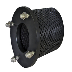"12"" Flanged Hdpe Strainer Screen"