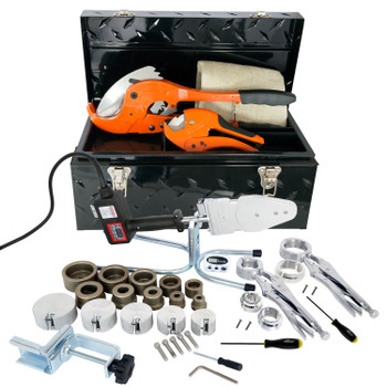 """Jackman Socket Fusion Welder Complete Tool Set 3/4"""" - 2"""" IPS"""