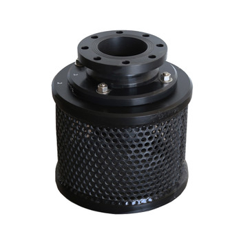"4"" Compact Flanged Hdpe Combination Foot Valve With Screen"