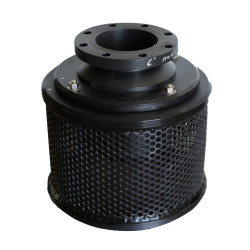 "6"" Compact Flanged Hdpe Combination Foot Valve With Screen"