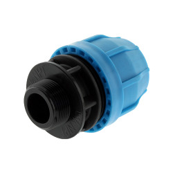 "1-1/2"" IPS Compression x 1-1/2"" Male Threaded Transition MPT"