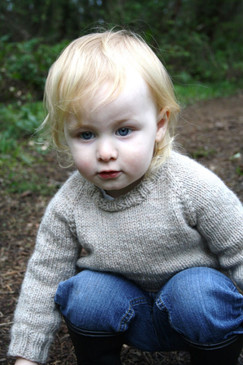 Child's Classic Raglan Pullover
