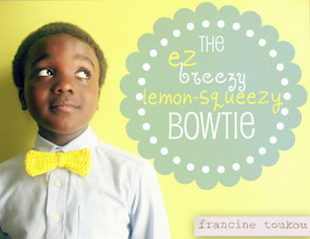 The EZ Breezy Lemon-Squeezy Bowtie