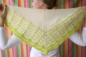 Glacerie Shawl