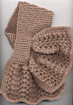 Criss-Cross Lace Scarf