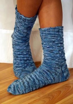 Basketweave Sock