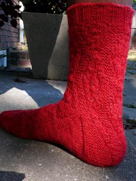 Cardigan Sock