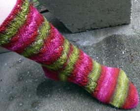 Merlot Vine Sock