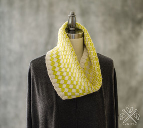Ombre Mosaic Cowl