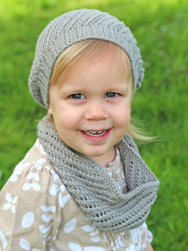 Mini Bellamy Cowl and Hat