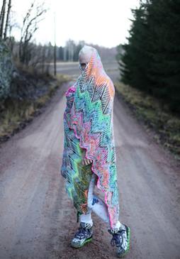 Briochevron Blanket