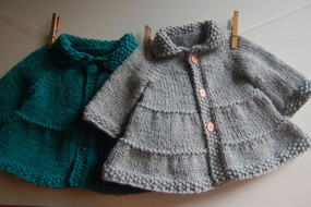 Tiered Baby Coat & Jacket